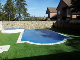 Piscinas brunete cobertores de piscinas prefabricadas en for Piscinas prefabricadas madrid