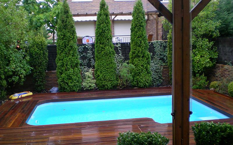 Imagenes y fotos de piscinas prefabricadas for Piscinas baratas prefabricadas